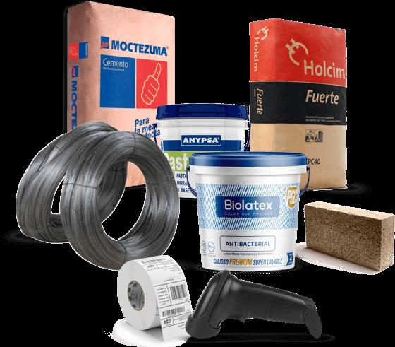 productos materiales de construccion